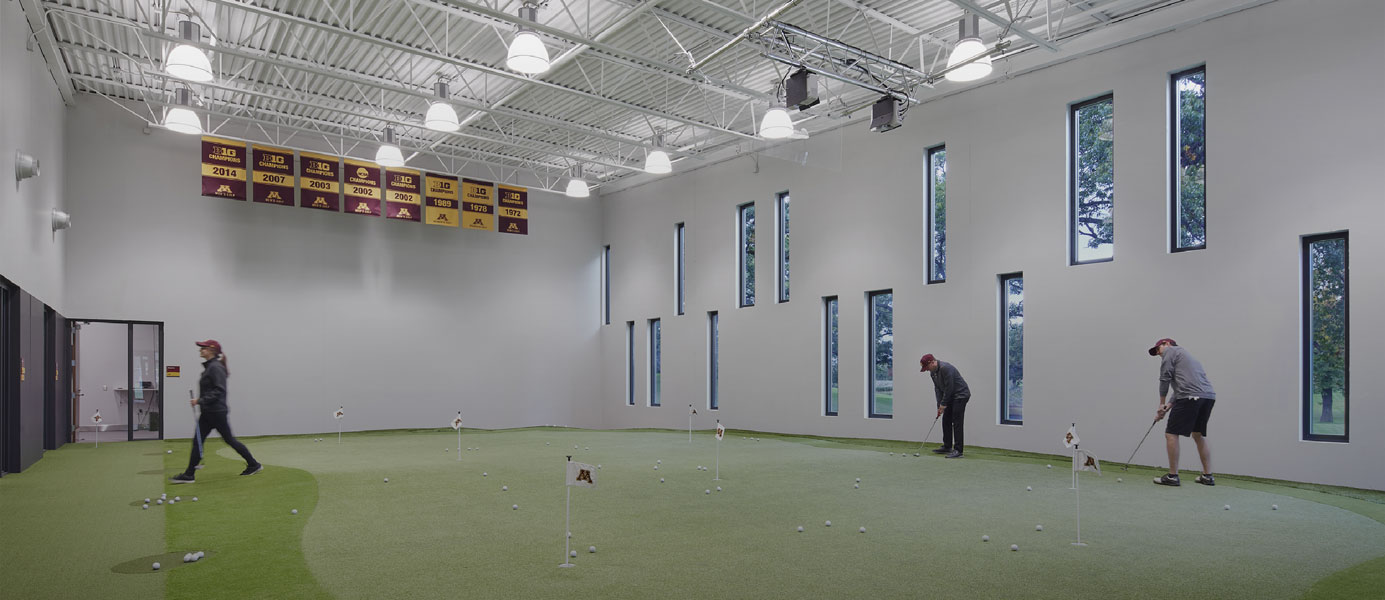 Indoor Golf Practice Facility