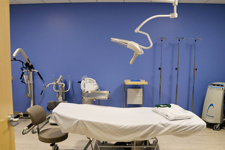 Lower Sioux Medical Center room