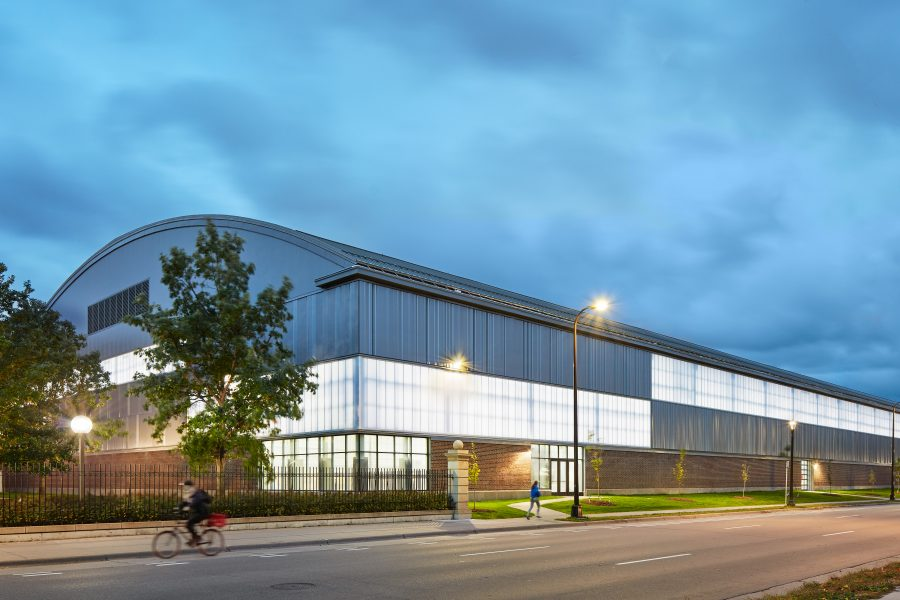 Photo of U of MN Field House exterior