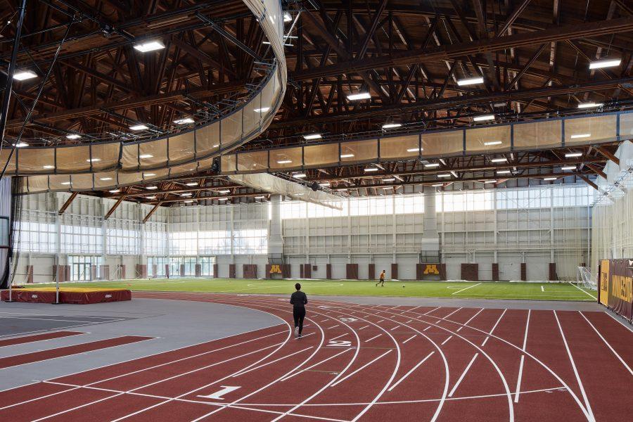 U of MN Field House track