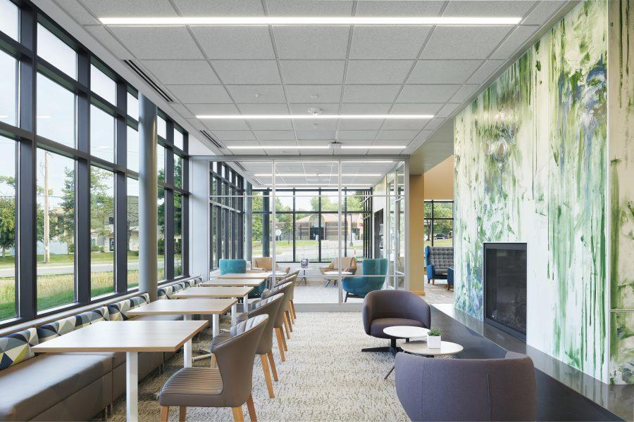 Wildwood Library interior